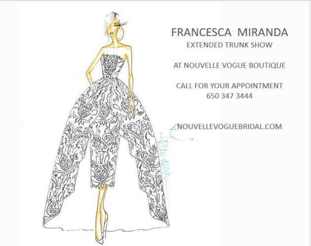 FRANCESCA MIRANDA EXTENDED TRUNK SHOW